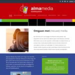 Nieuwe website almamedia